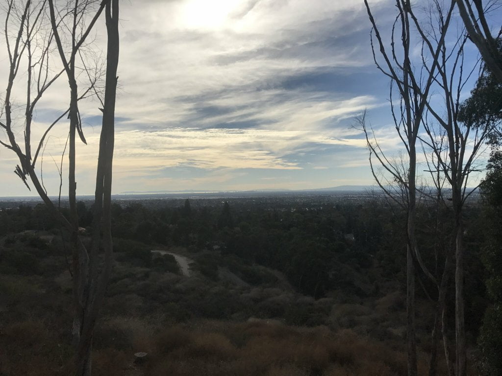 Arroyo Pescadero Trail views