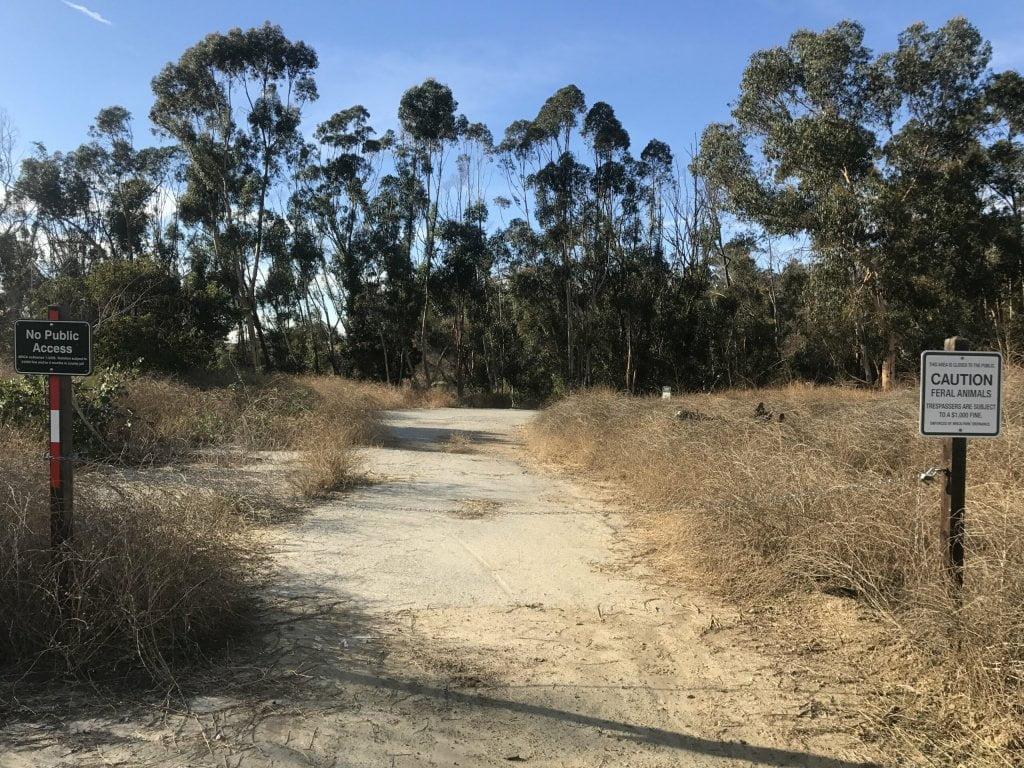 deer loop trail feral animals caution