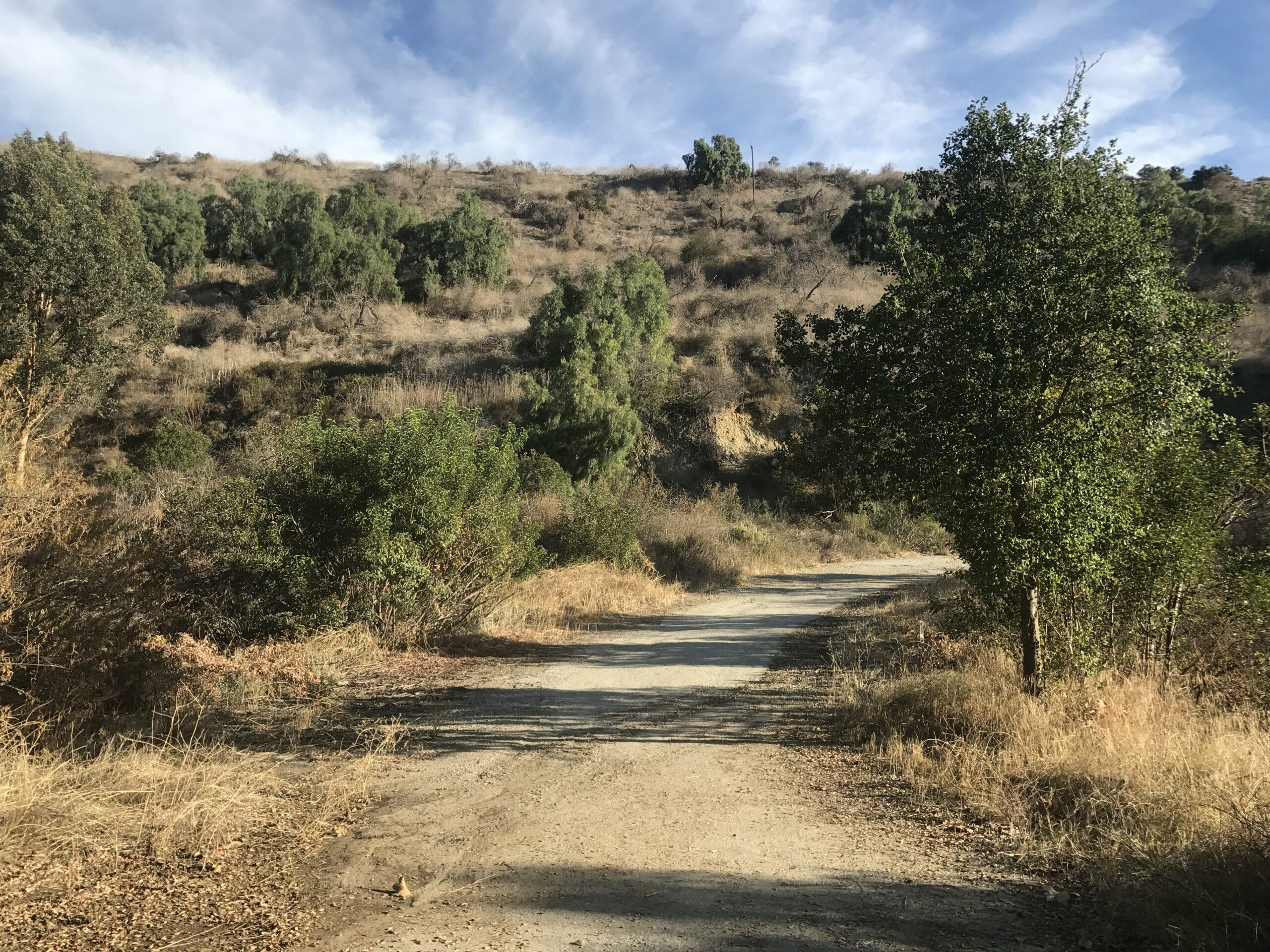 Arroyo Pescadero trail mountains