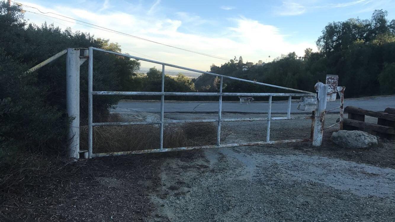 Arroyo San Miguel Trail gate