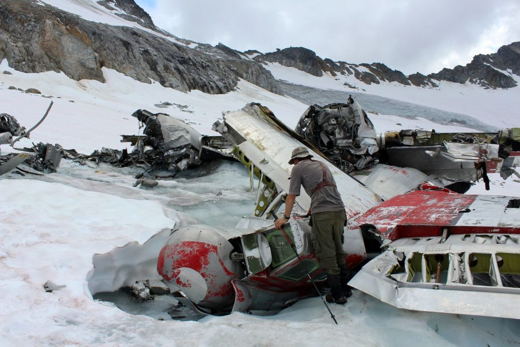 bomber glacier b-29 crash