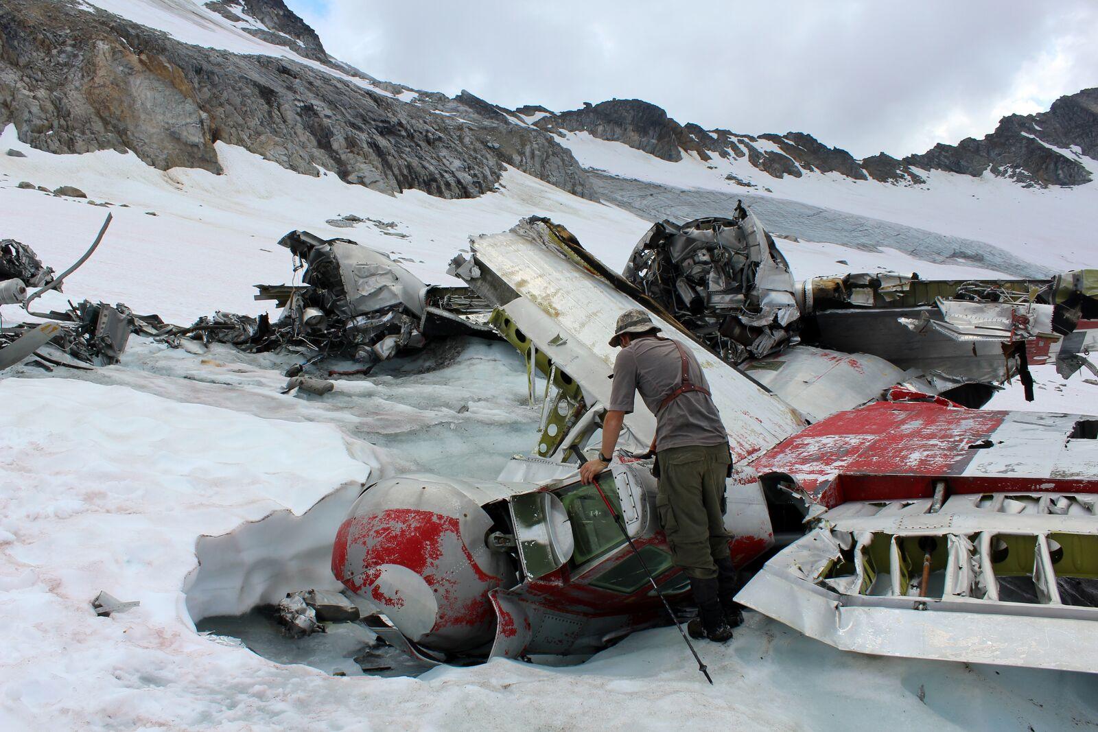 bomber glacier b-29 crash