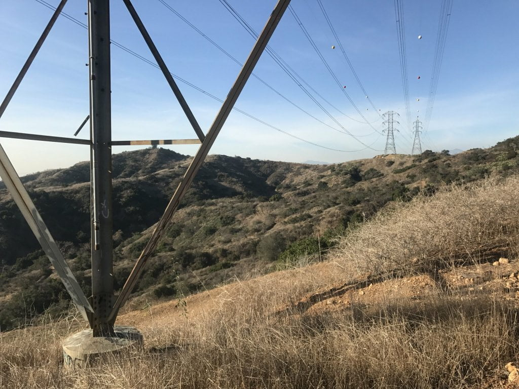 Turnbull Canyon Power Lines