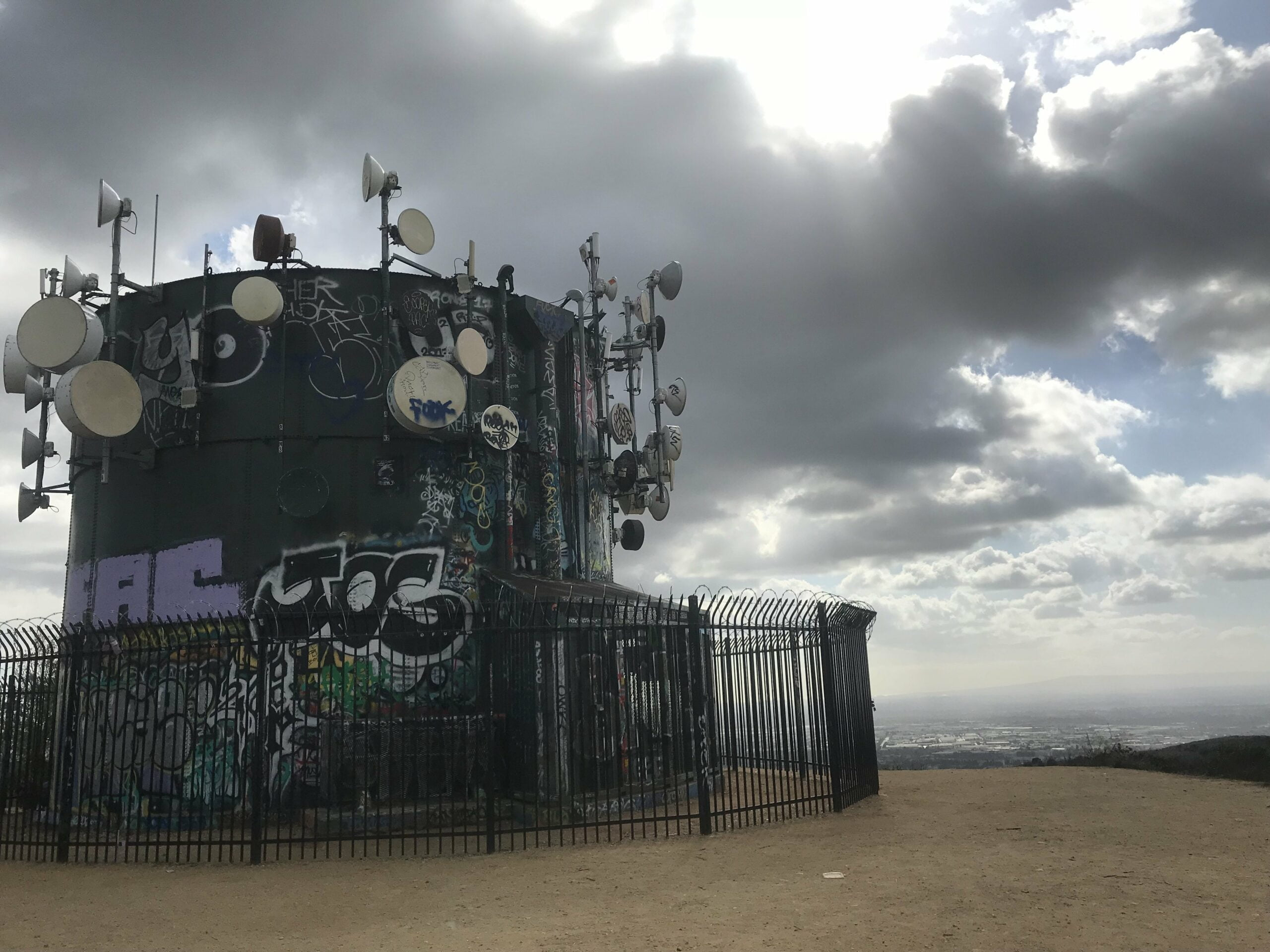 Turnbull Canyon water tower
