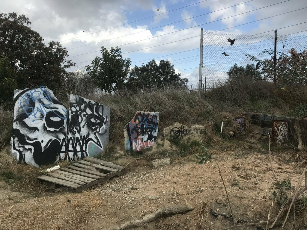 Turnbull Canyon graffiti