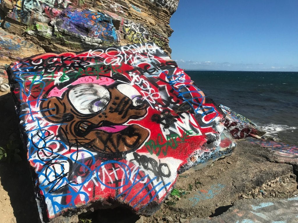 San Pedro Sunken City graffiti