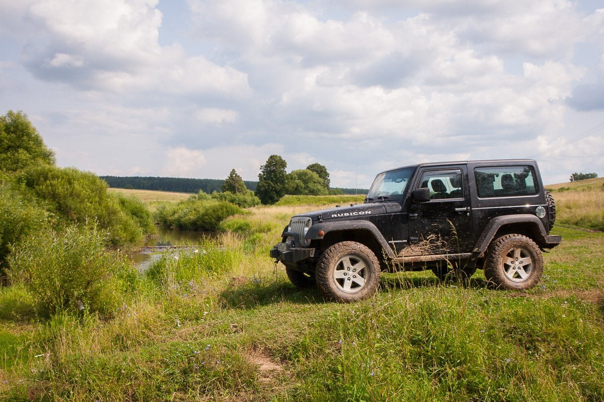 Off Road Stock Jeep Wrangler