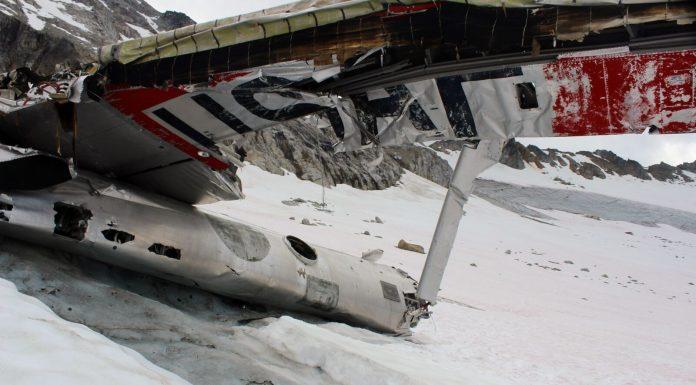 bomber glacier alaska hike