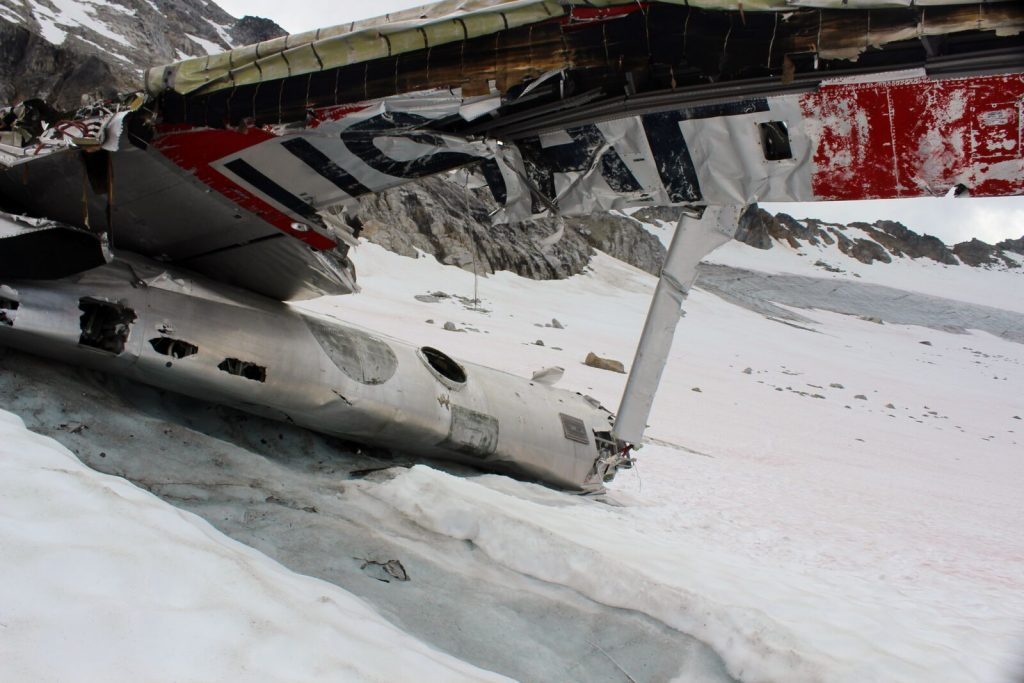 bomber glacier crashed b-29