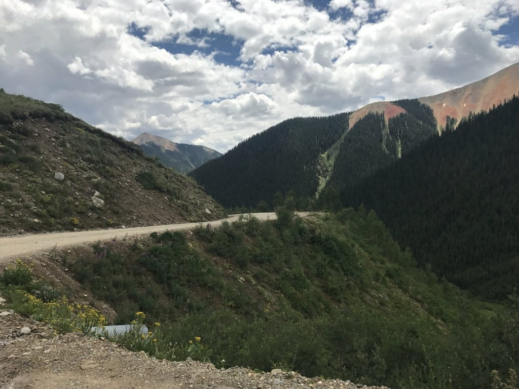 Ophir Pass Jeep Trail