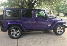 Stock Jeep Wrangler