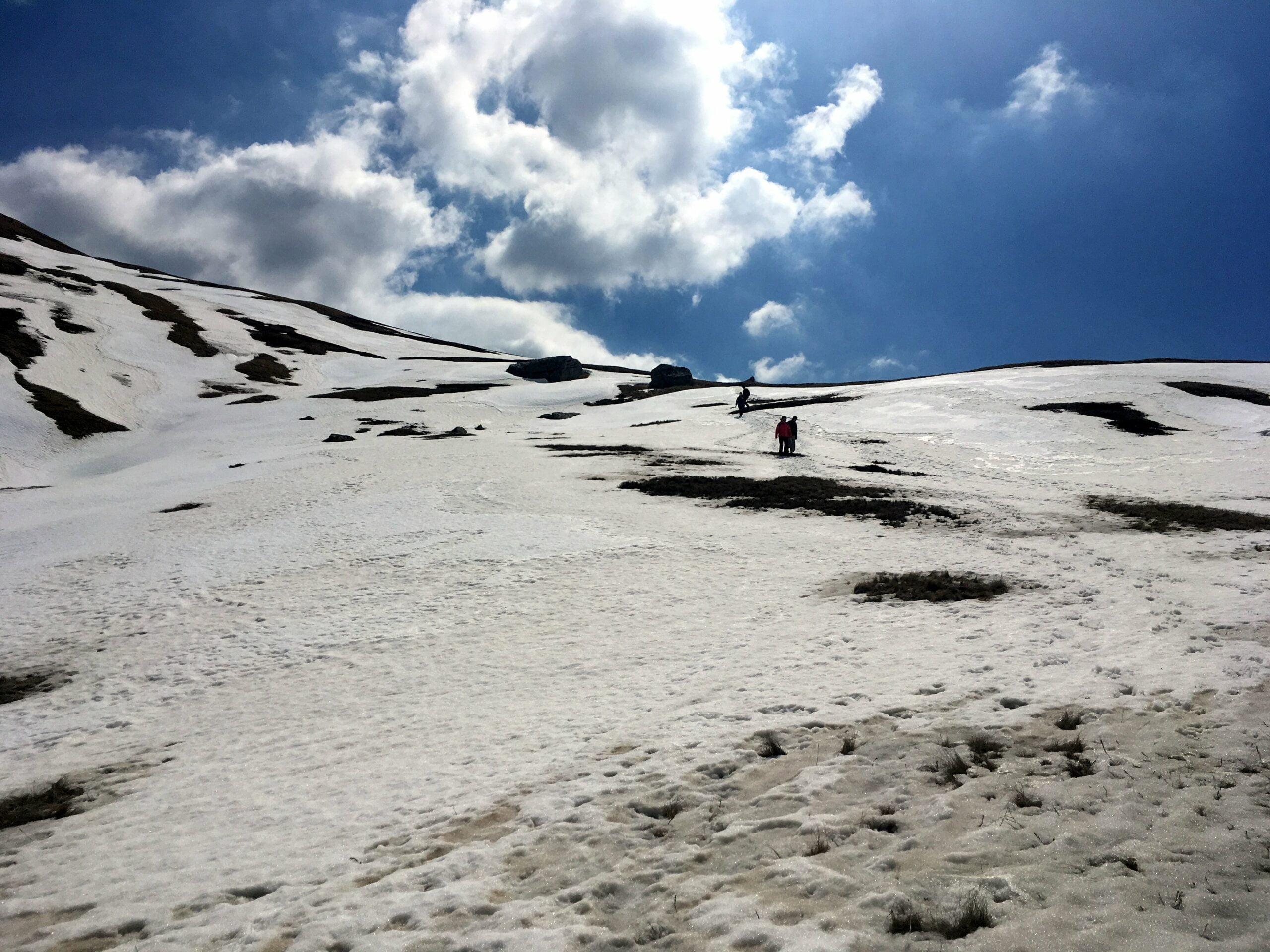 Descending from Crveni Kuk