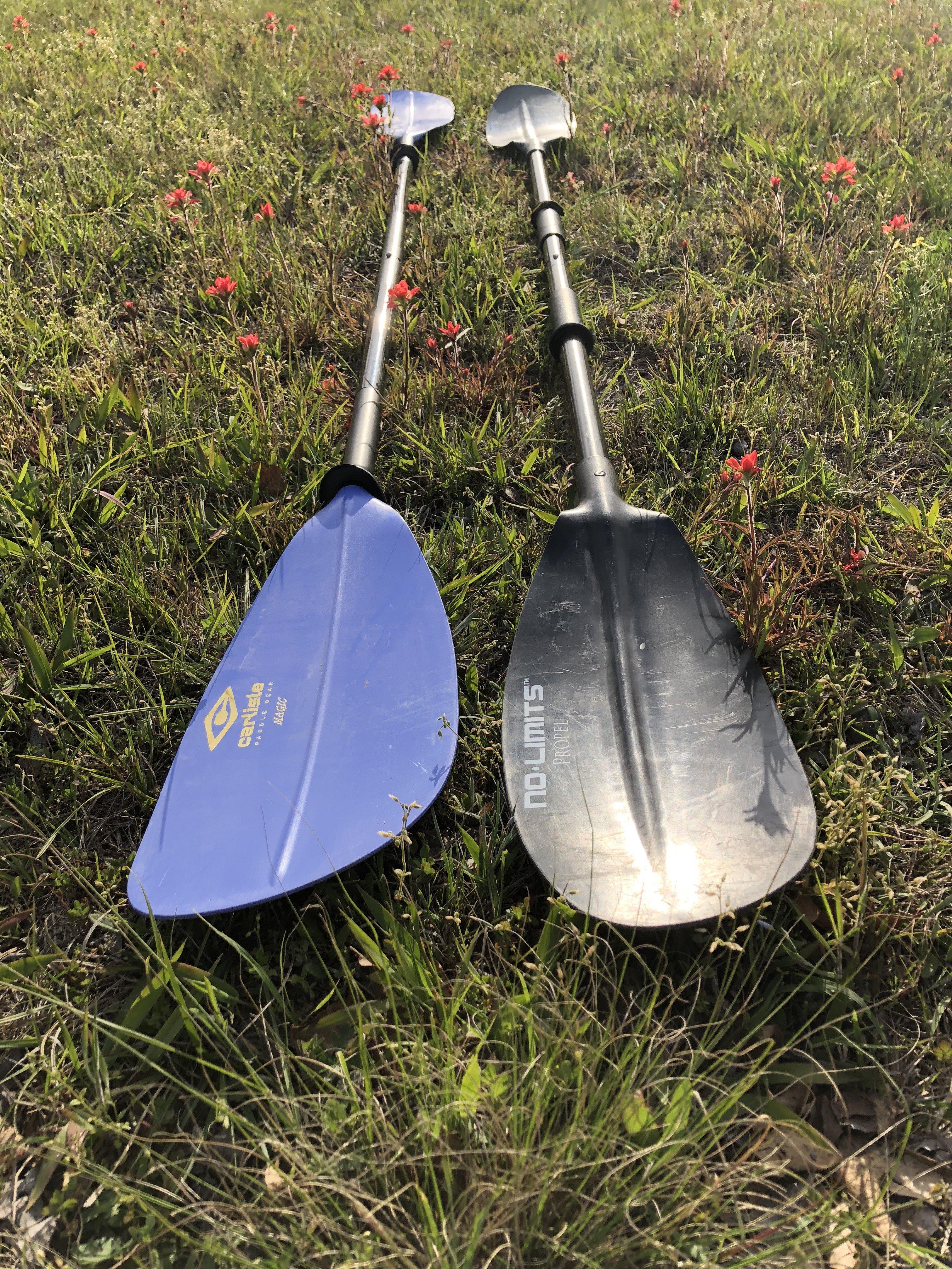 choosing the right kayak paddle