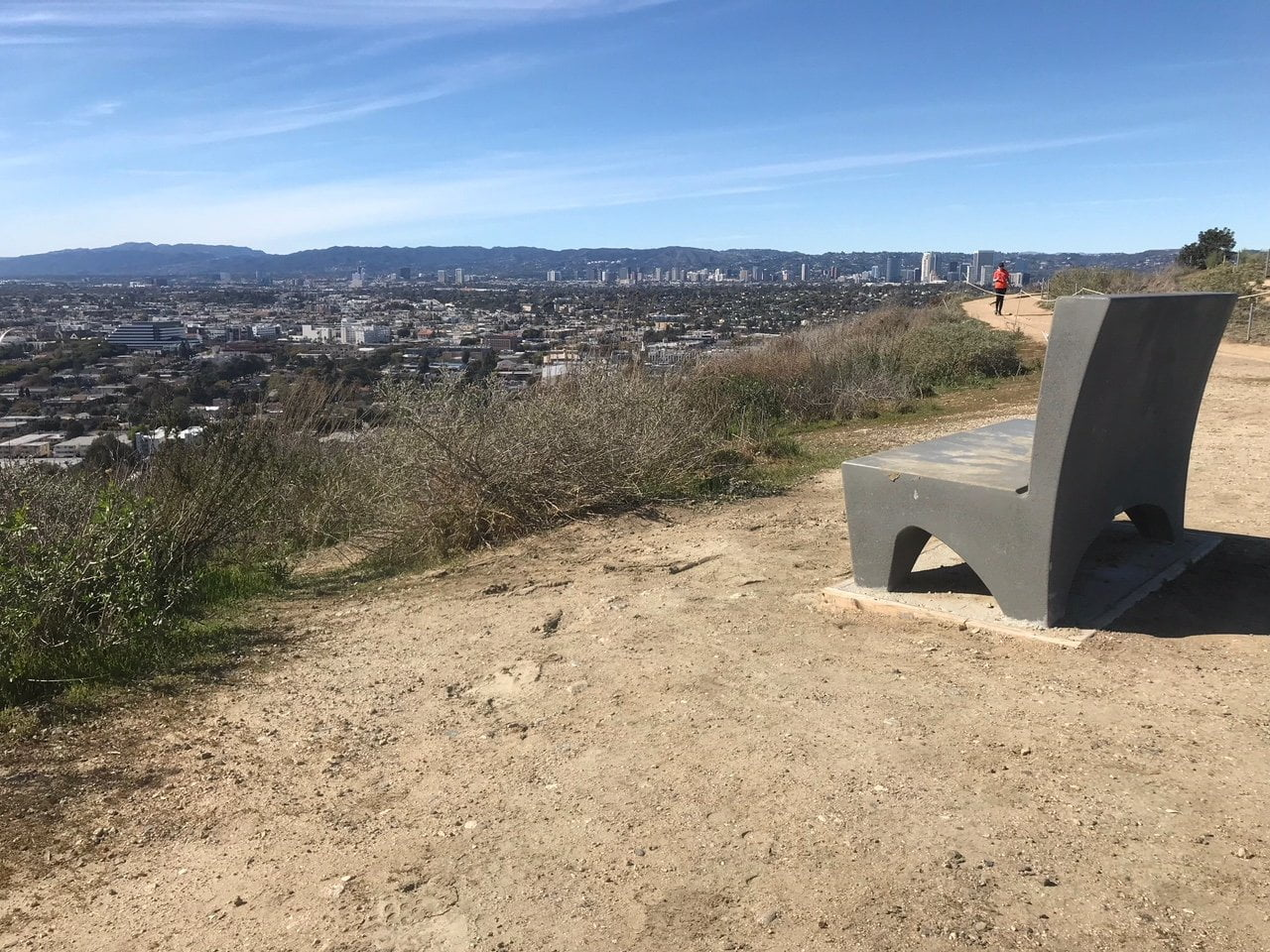 Culver city stairs bench