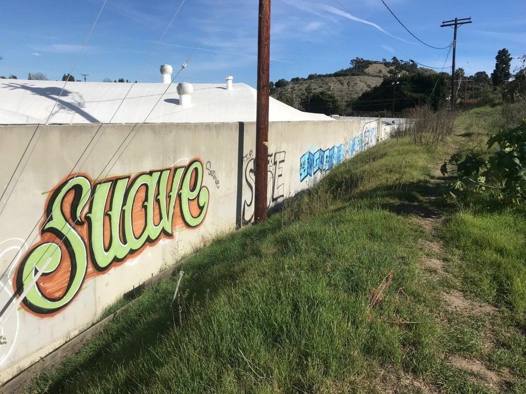 baldwin hills scenic overlook graffiti