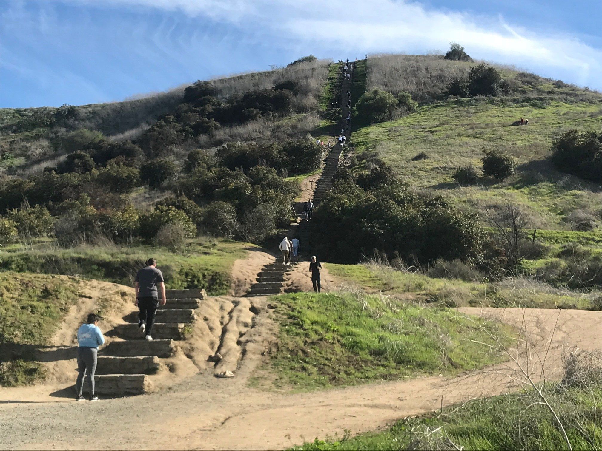 Culver City Stairs staircase