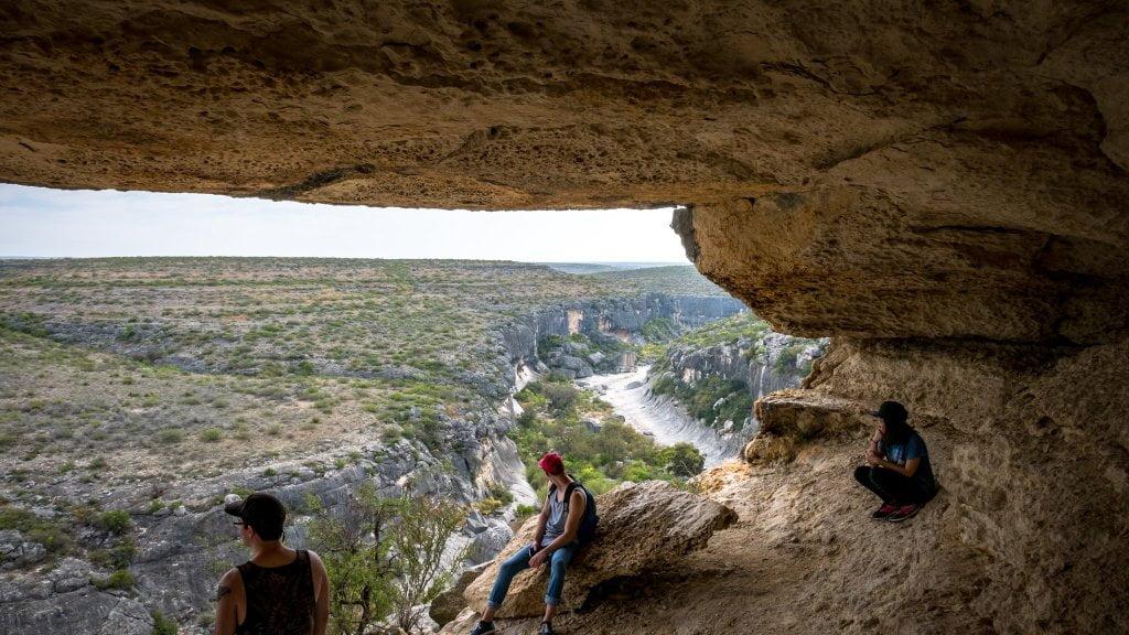 Cave at Seminole Canyon
