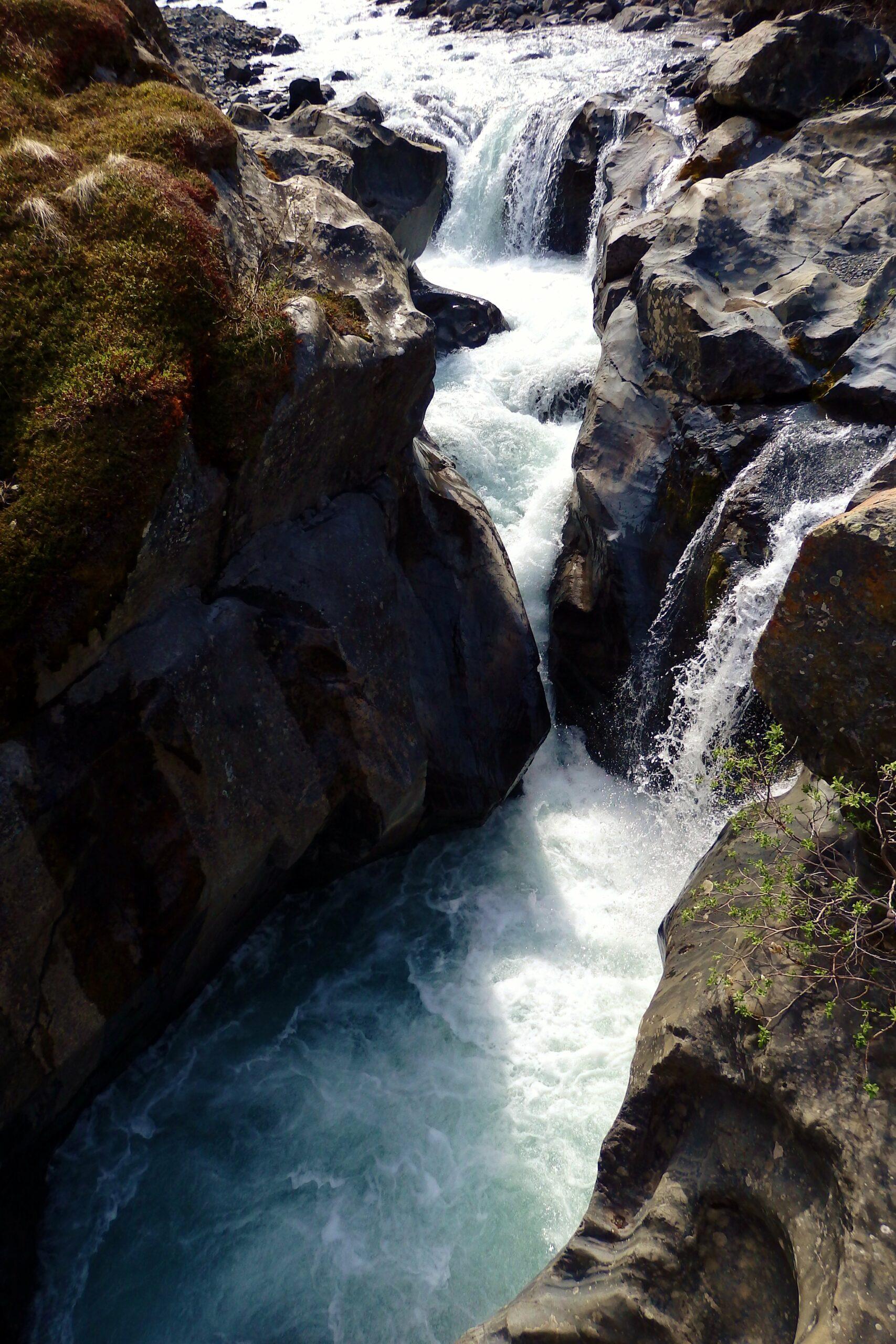 Raven Gorge Waterfall and Rapids - Alaska Long Distance Hiking