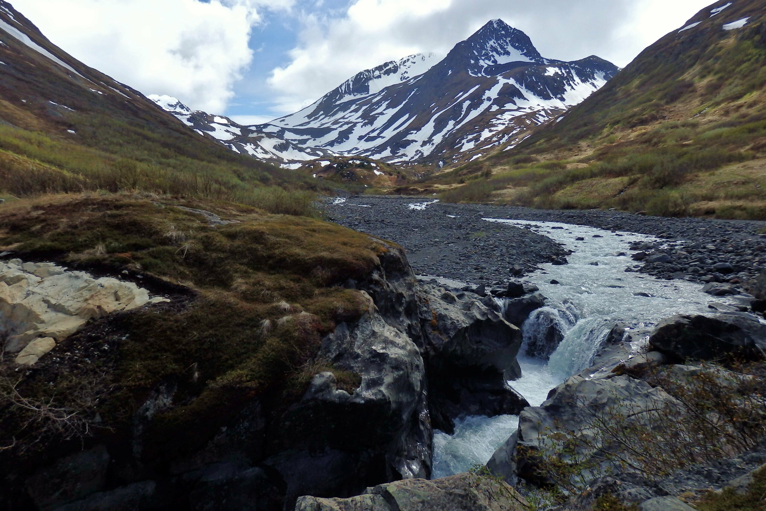 long distance hiking raven gorge