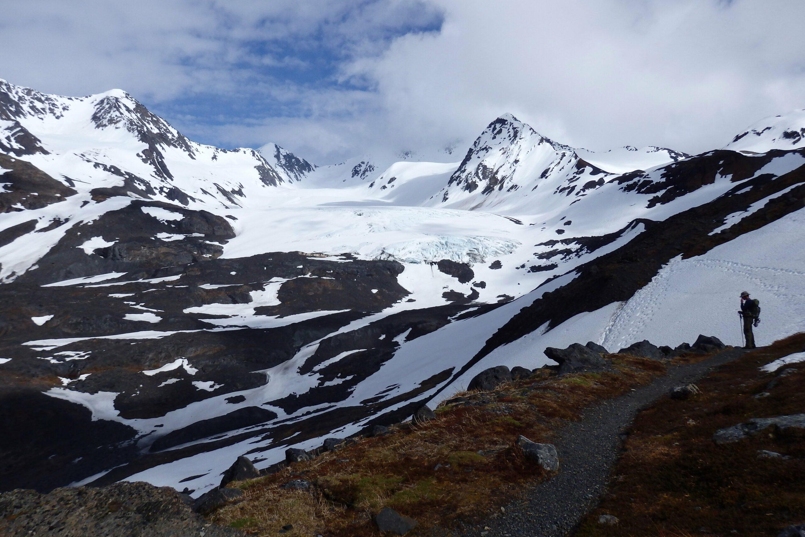 hiking crow pass
