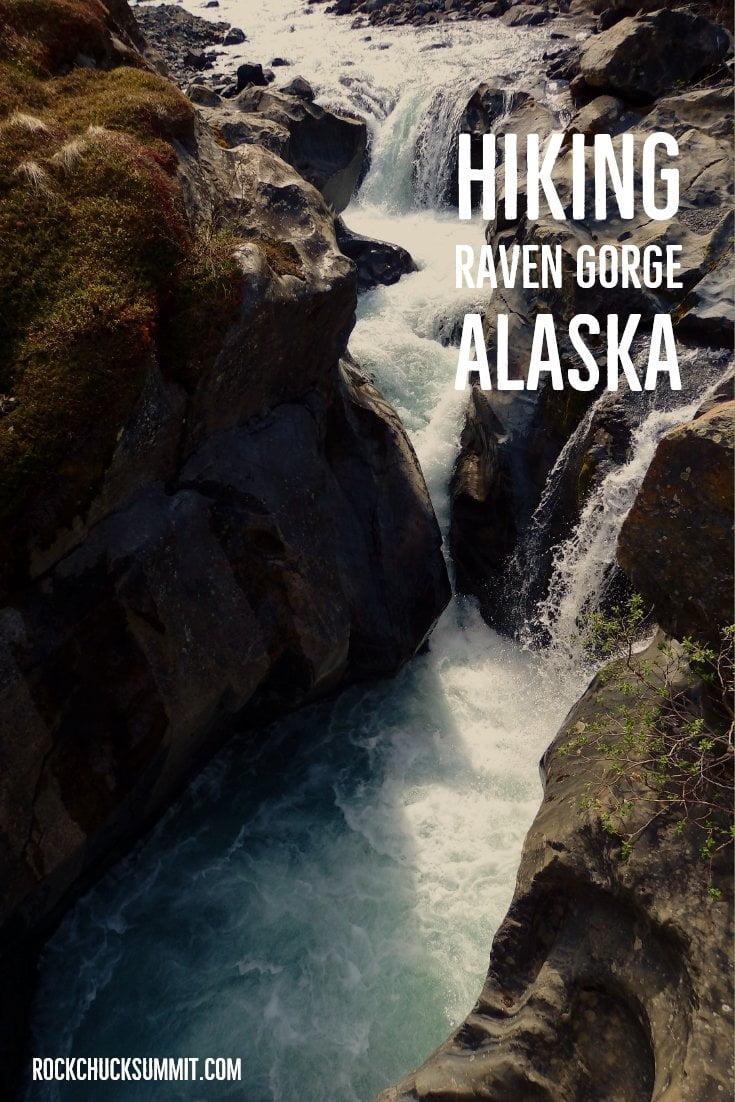 Raven Gorge Falls, Alaska