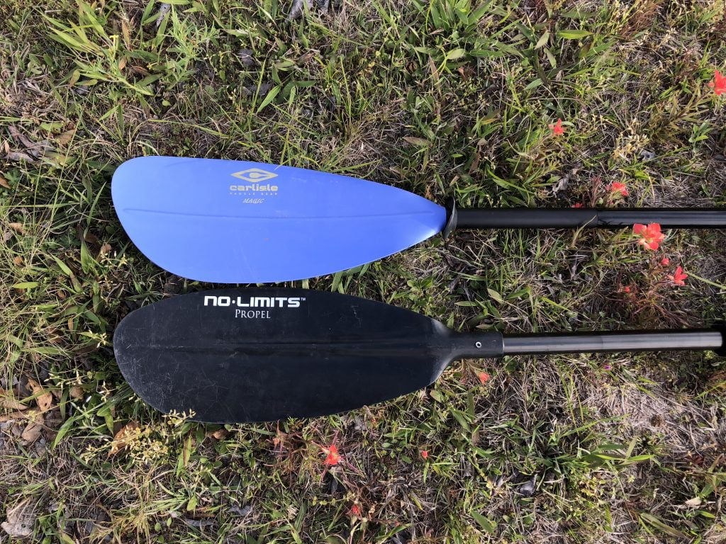 choosing the right kayak paddle