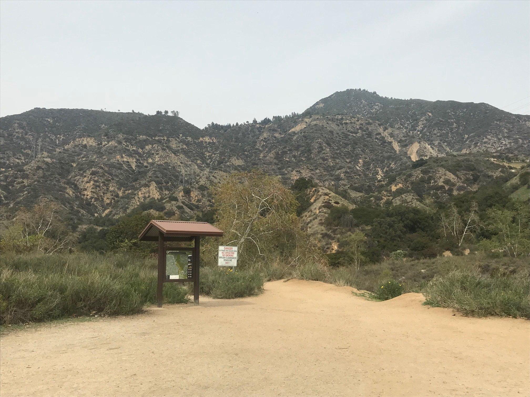 Eaton Canyon Falls Trail