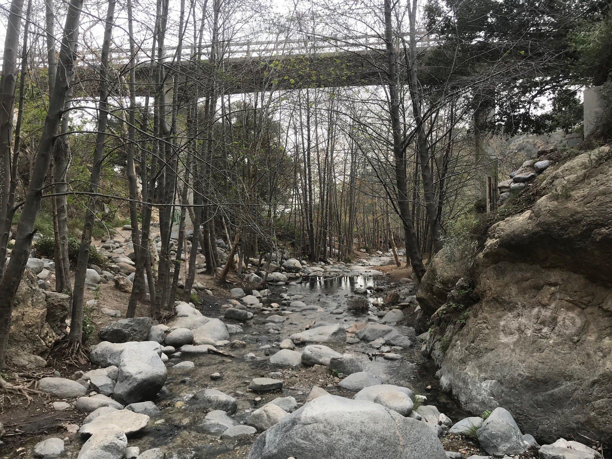 eaton canyon bridge