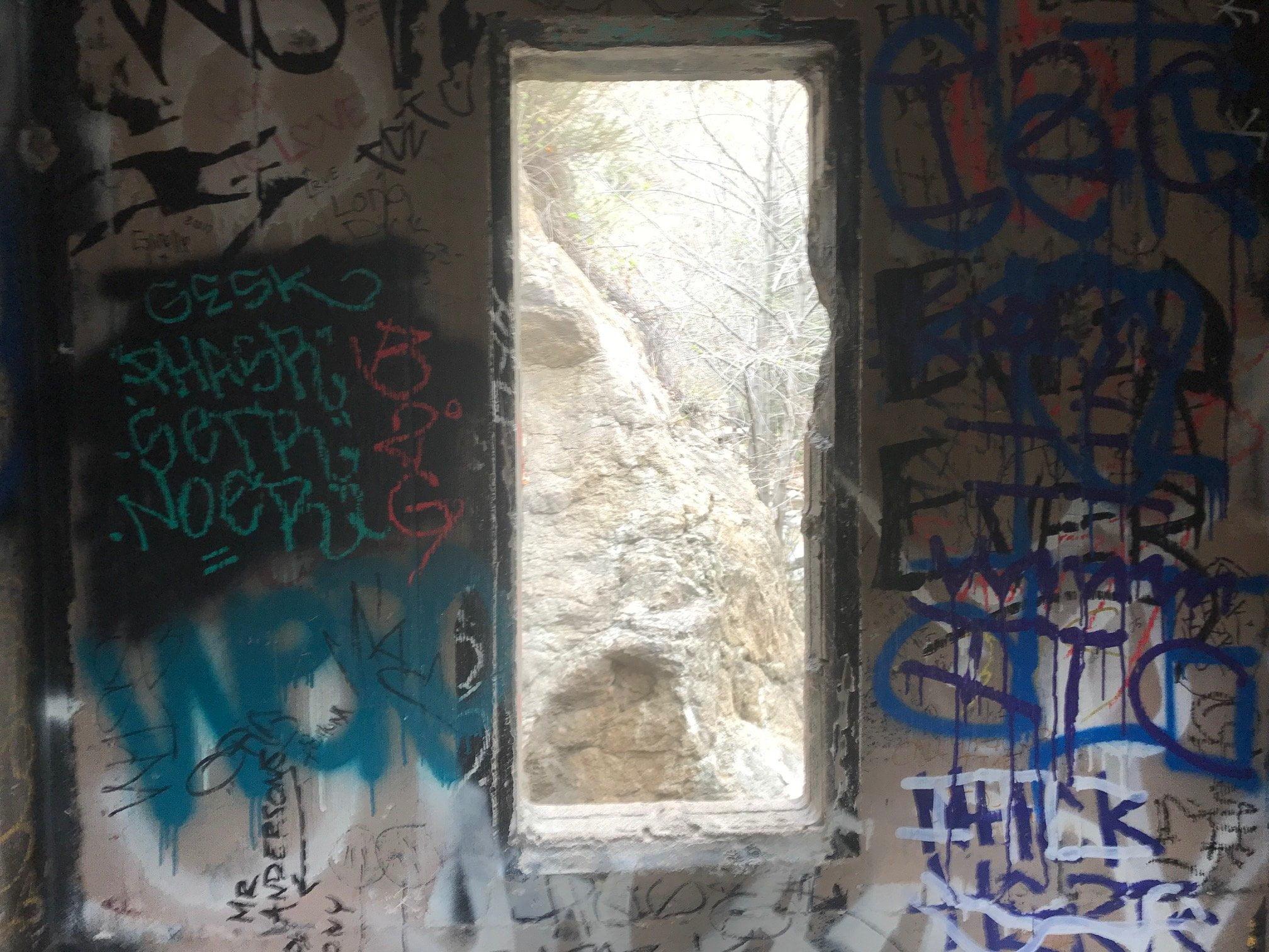 eaton canyon graffiti