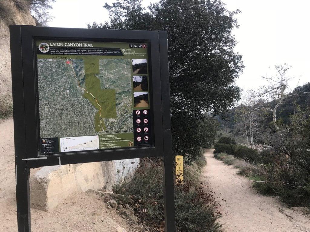eaton canyon trail map