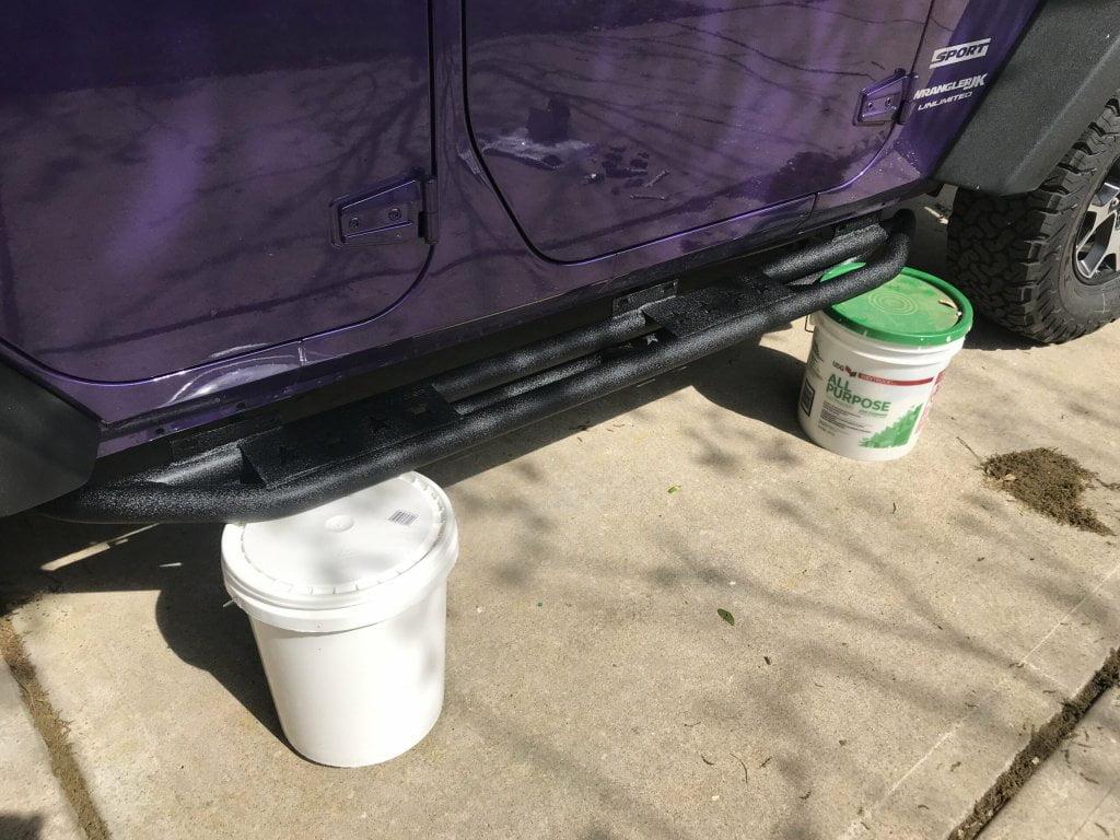 Installing Jeep Wrangler Running Boards