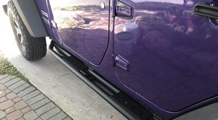 Jeep Wrangler Runningboards