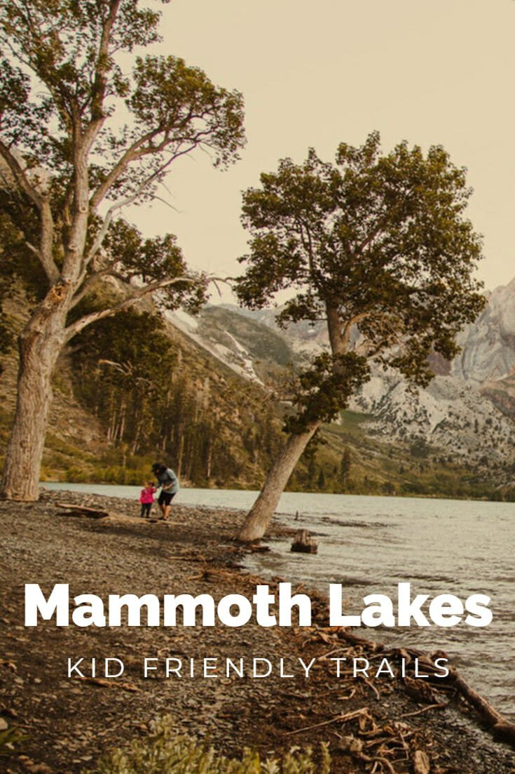 Kid Friendly hikes in the Mammoth Lakes