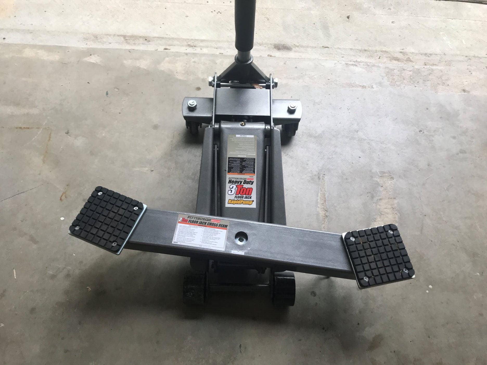 Jack Stand for installing teraflex body lift kit