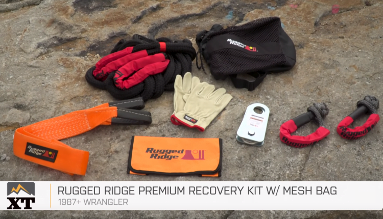 extreme terrain throttled out vehicle recovery gear