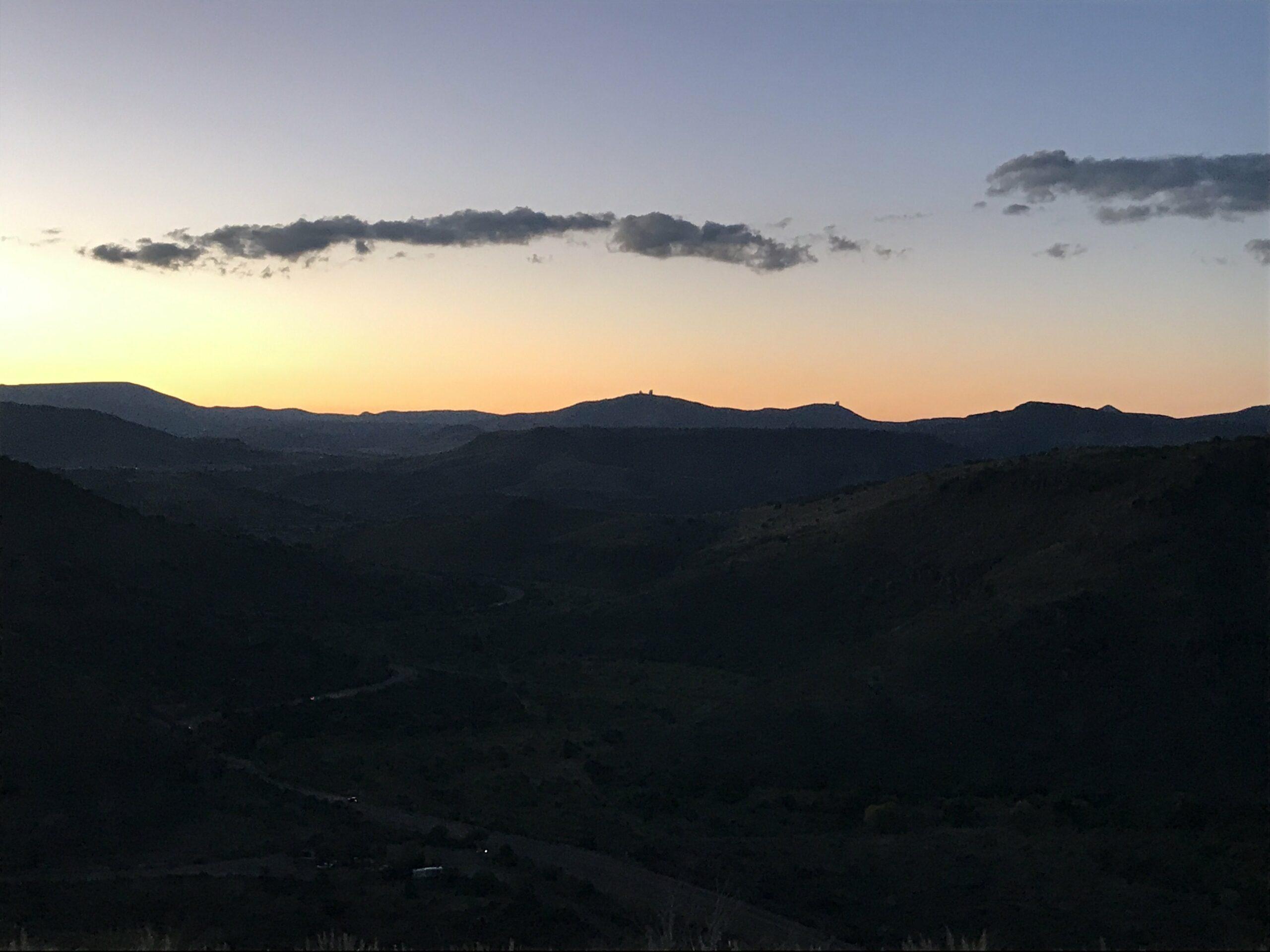 Davis Mountains State Park sunset