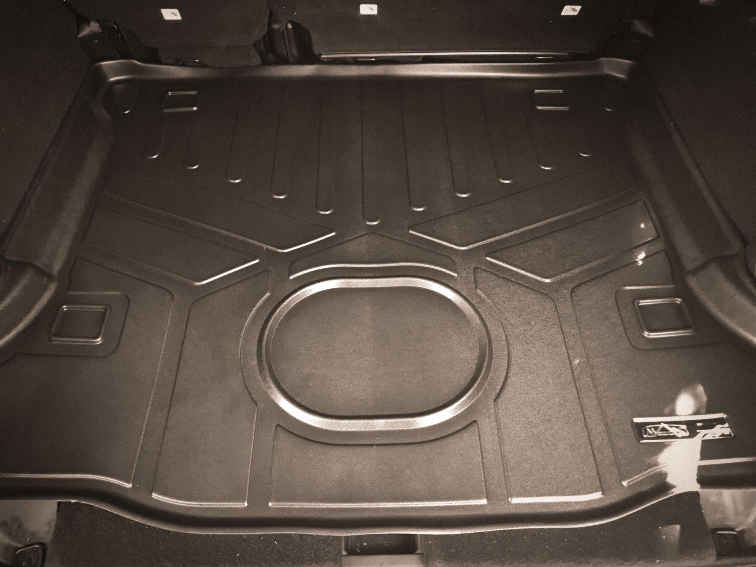 cargo area max liner floor mat jeep wrangler