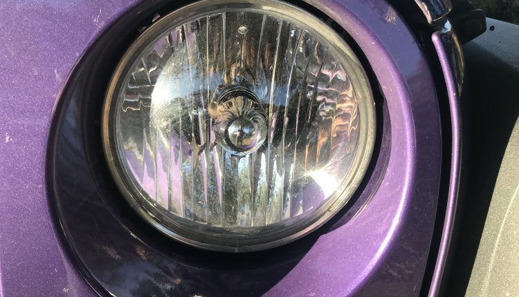 Jeep Wrangler Factory Halogen Headlamp