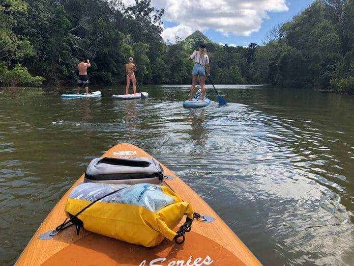 Overnight Paddle Board Trip