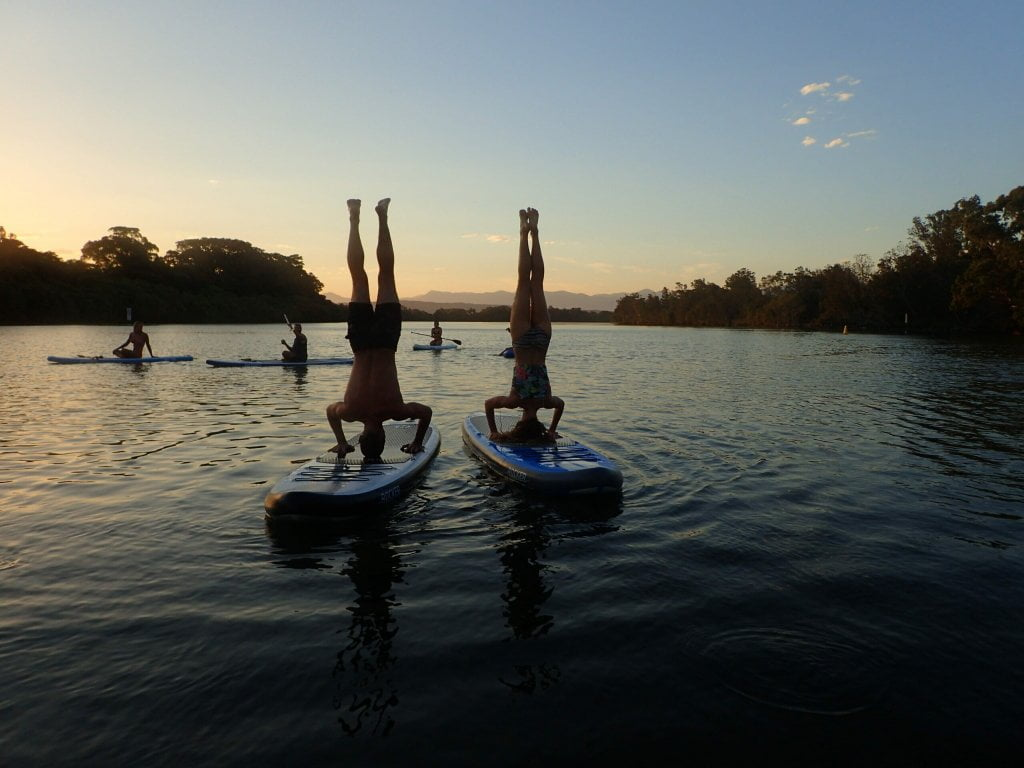 Stand Up Paddle Board Trip