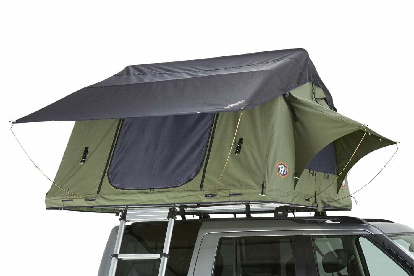 Softshell rooftop tent
