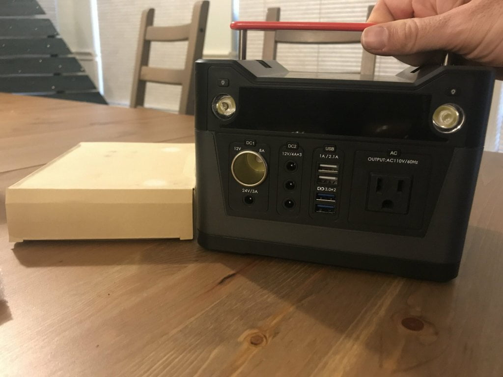 Rockpals 300w lithium ion battery generator review