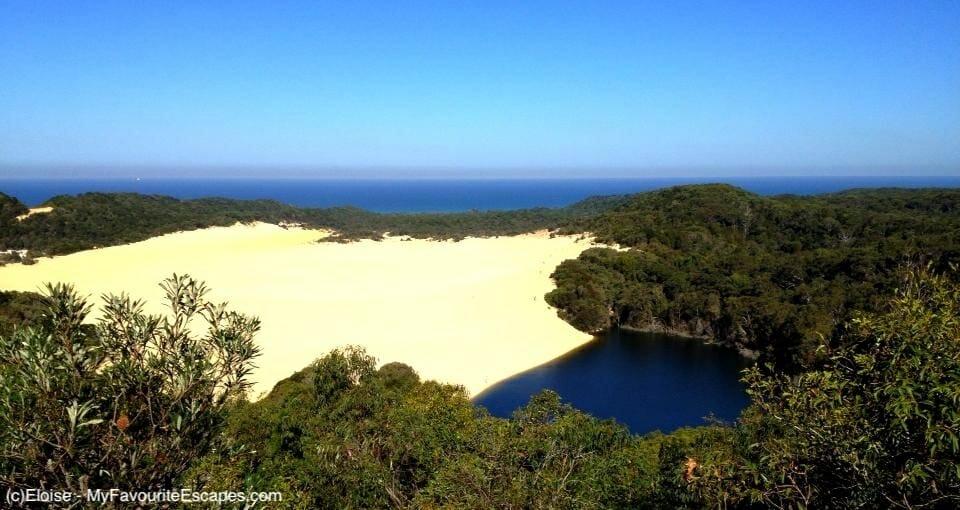Kgari - Fraser Island - Lake Wabby