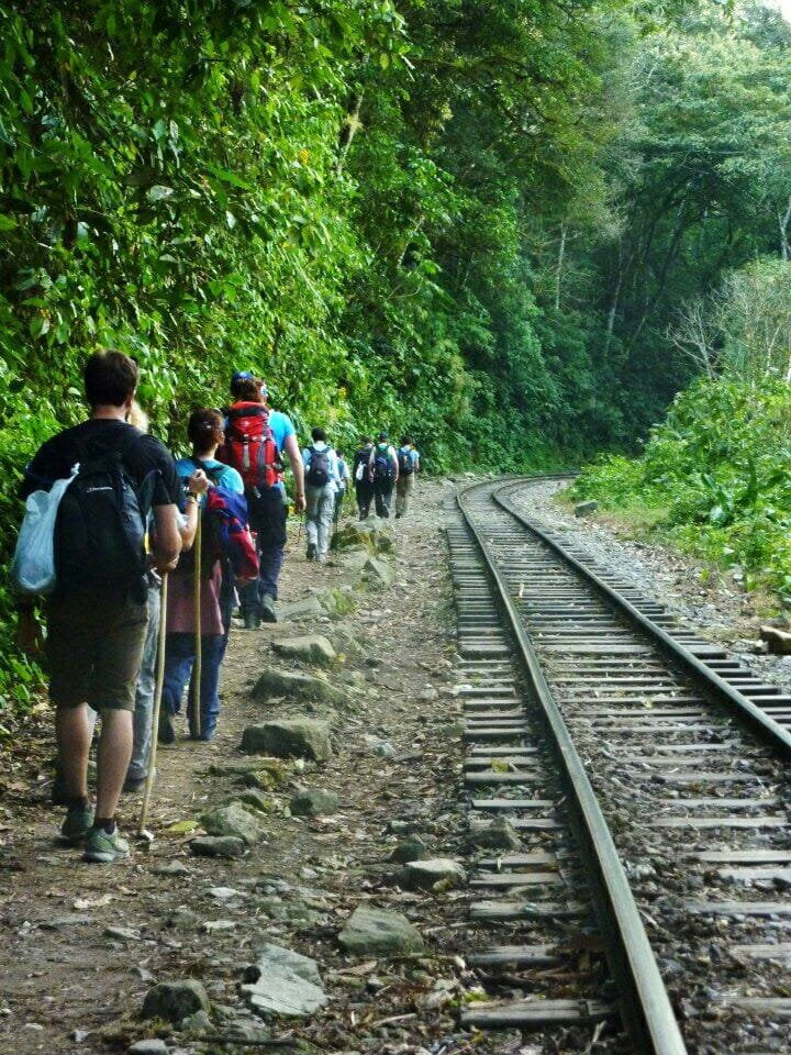 Salkantay Trek along Railroad