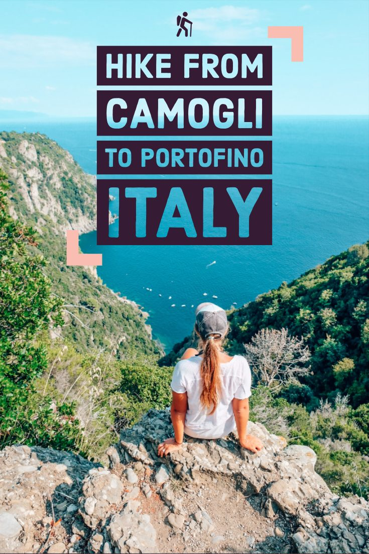 Hike from Camogli to Portofino Italy
