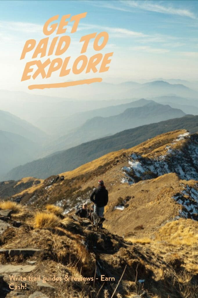 Get paid to write trail guides