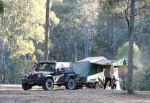 Jeep Wrangler Towing Trailer