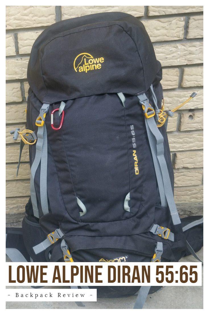 Low Alpine DIran 55:65 backpack