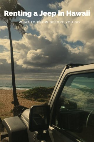 Renting a Jeep In Hawaii