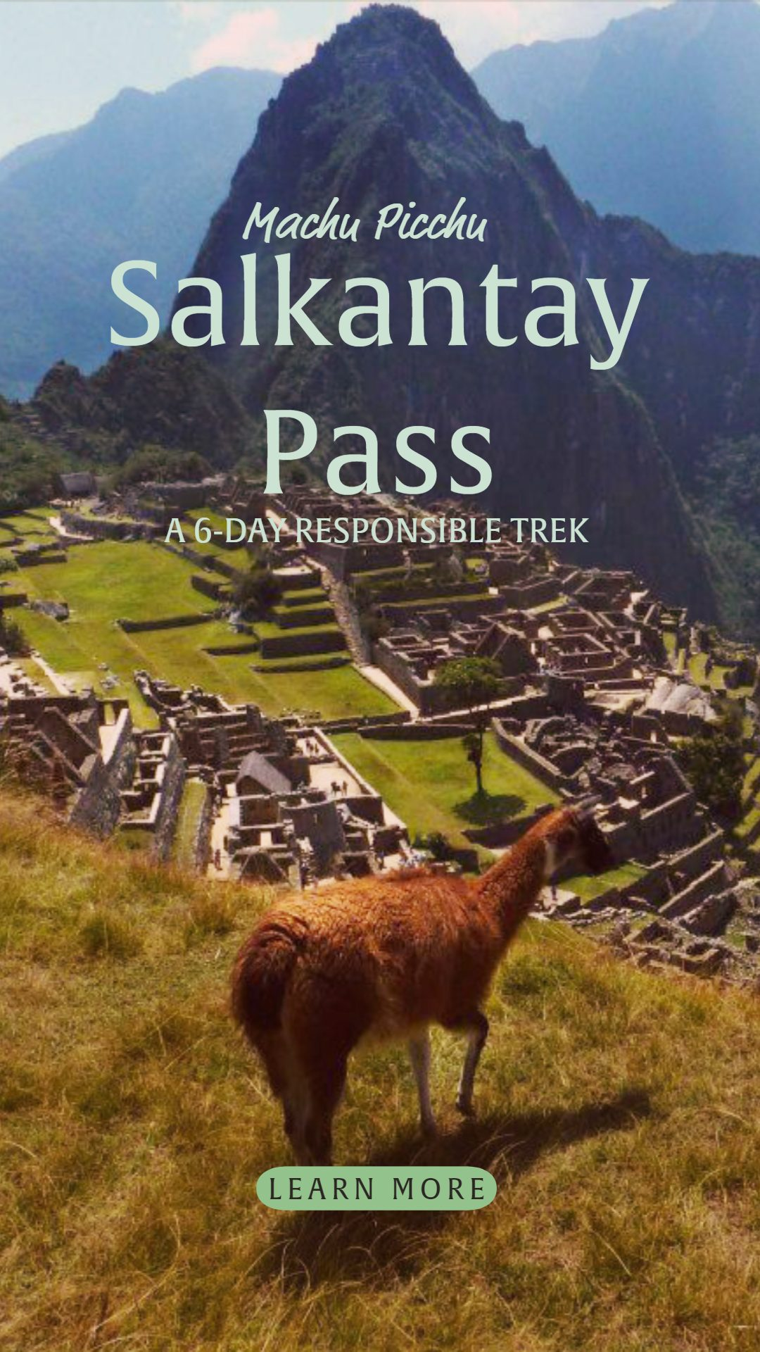 Salkantay Pass Trek to Machu Picchu